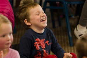 boy-having-a-laugh-at-tricky-trevor-party-entertainment